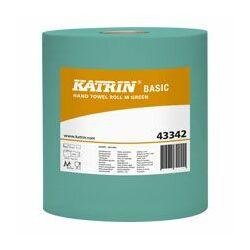 KATRIN BASIC M Green tekercses kéztörlő (zöld) - 433429