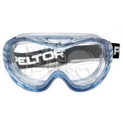 60160 Védőszemüveg Peltor Fahrenheit gumipántos, széles látóterű, indirekt ventillációs polikarbonát, légzésvédőkhöz is