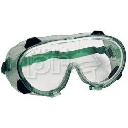 Chimilux Védőszemüveg páramentes, vegyszerálló polikarbonát, oldalszellőző gombokkal