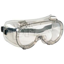 Labolux Védőszemüveg páramentes, vegyszerálló polikarbonát, szellőző nyílásokkal