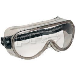 Shellux Védőszemüveg gumipántos, páramentes, oldalszellőző gombok