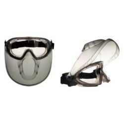 Stormlux védőszemüveghez vegyszerálló és víztiszta acetát lencse (2-1,2 1BTN) állítható rugalmas gumipánttal
