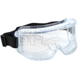 Hublux Védőszemüveg gumipántos, páramentes, indirekt ventillációs