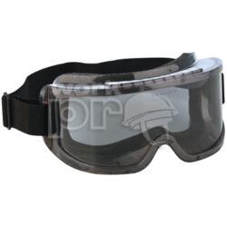Hublux Védőszemüveg gumipántos, szivacsos, sötét lencsével