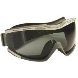 Biolux széles látóterű, füstszínű páramentes lencse, világos/sötét szürke keret