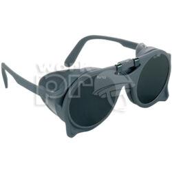 Eurolux Védőszemüveg száras szemüveg felhajtható sötét üveggel, oldalvédővel
