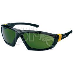 Uvex 9185 Védőszemüveg Athletic tartós, sportos keret, könnyen cserélhető 5-ös hegesztőlencsékkel