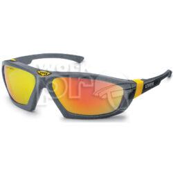 Athletic Védőszemüveg barna alapon kiváló UV-, és napfényszűrő narancs tükrös lencse (SCT)