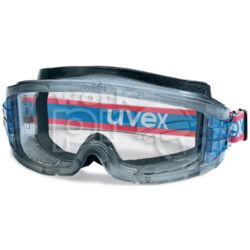 Uvex Ultravision gumipántos szemüveg, páramentes, vegyszerálló acetát lencsével, víztiszta