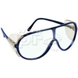 Panoralux Védőszemüveg műanyag keret, karcmentes lencse, levehető oldalvédő