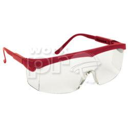 Pivolux Védőszemüveg piros keret