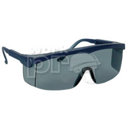 Pivolux Védőszemüveg kék keret, sötétített lencse, állítható, szürke