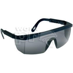 Ecolux Védőszemüveg kék keret, füstszínű látómező, állítható szárhossz