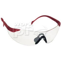Stylux Védőszemüveg víztiszta lencse, állítható, dönthető szár, szilikon orrnyereg