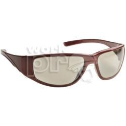 Fairlux Védőszemüveg in/out bel- és kültéri lencse, UV400-as védelemmel, piros keret