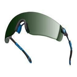LIPARI szemüveg, fekete/sárga szár, polikarbonát, 5-ös árnyalatú, páramentes / karcmentes