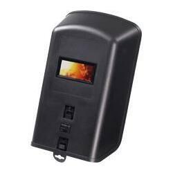 Kézi pajzs hegesztéshez szűrőkkel (víztiszta és DIN 11) fekete
