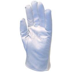 Kesztyű színkecskebőr, rugalmas fehér dzsörzé kézháttal (11-es méretben is), 6