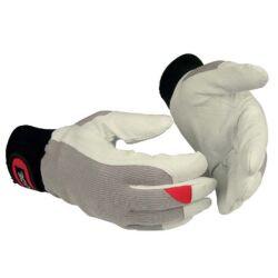 Védőkesztyű guide 43 tartós sertésbőr tenyér pamut sztreccs kézfej, 7