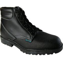 Wibram High O1, munkavédelmi bakancs, fekete