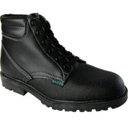 Wibram High S1, munkavédelmi bakancs, fekete