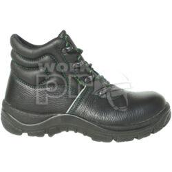 ELBA (S2) munkavédelmi bakancs, acélkapli, kényelmes talpbélés, széles orr-rész, olaj-, saválló talp