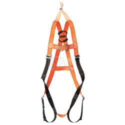 Save biztonsági mentő kikötési ponttal ellátott testhevederzet jól láthatósági színben (2+1 pontos)