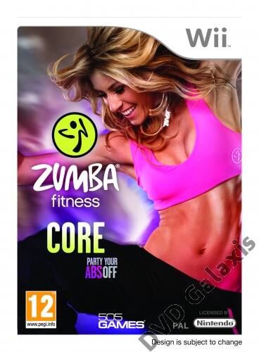 Image of 505 Games Zumba Fitness Core Wii