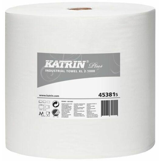 KATRIN PLUS XL 2 1000 tekercses ipari törlő - 453815