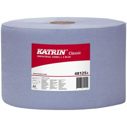 KATRIN CLASSIC L 3 Blue tekercses kék ipari törlő- 481252