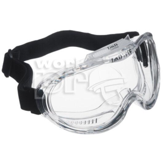 Kemilux Védőszemüveg páramentes lencse három indirekt ventillációs szellőzővel