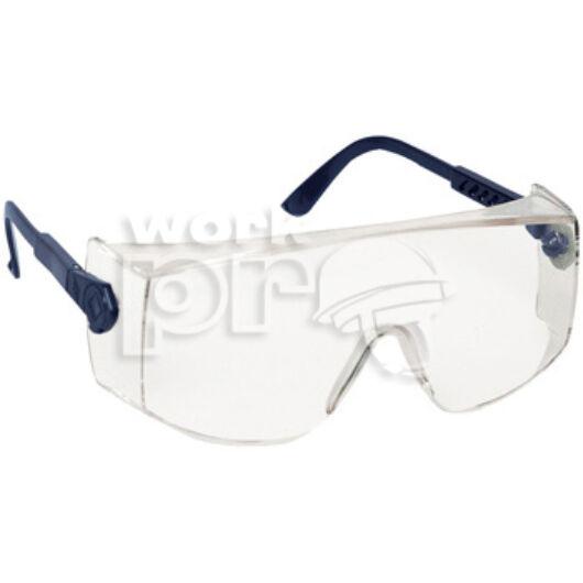 Verilux Védőszemüveg víztiszta, korrekciós szemüveg fölé vehető, állítható