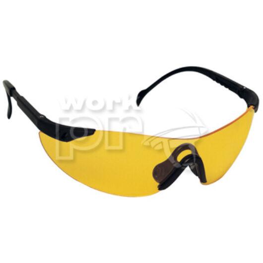 Stylux Védőszemüveg sárga lencse, állítható hosszúság és dőlésszög