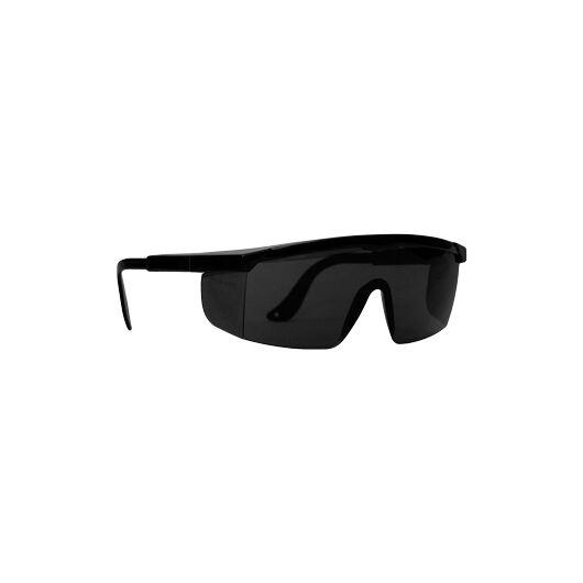 LEO színezett védőszemüveg, polikarbonát lencse, egybeépített oldalvédő