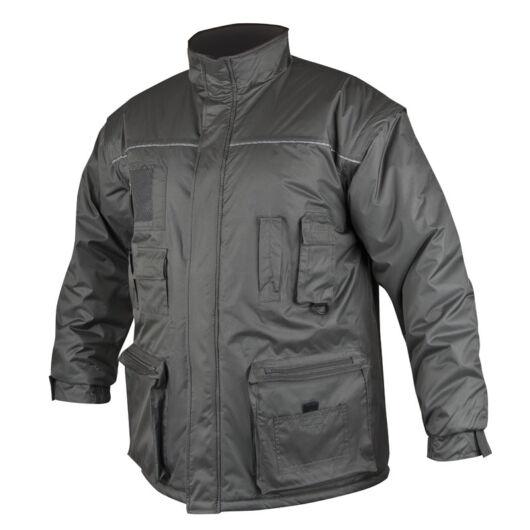 LINO férfi téli kabát, vízálló, levehető ujj